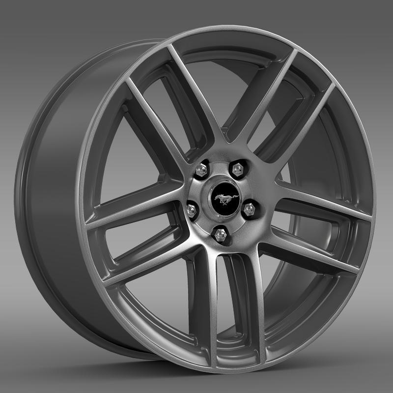 Ford Mustang Boss 302 2013 rim - 3DOcean Item for Sale