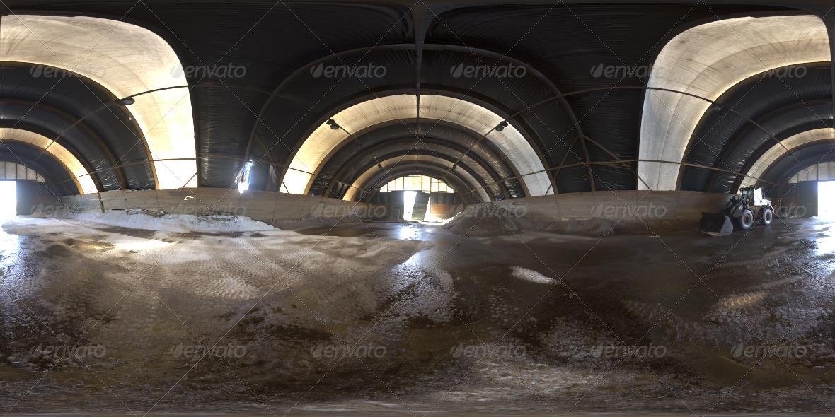 3DOcean Industrial Area HDRI III Grain Silo 2641506