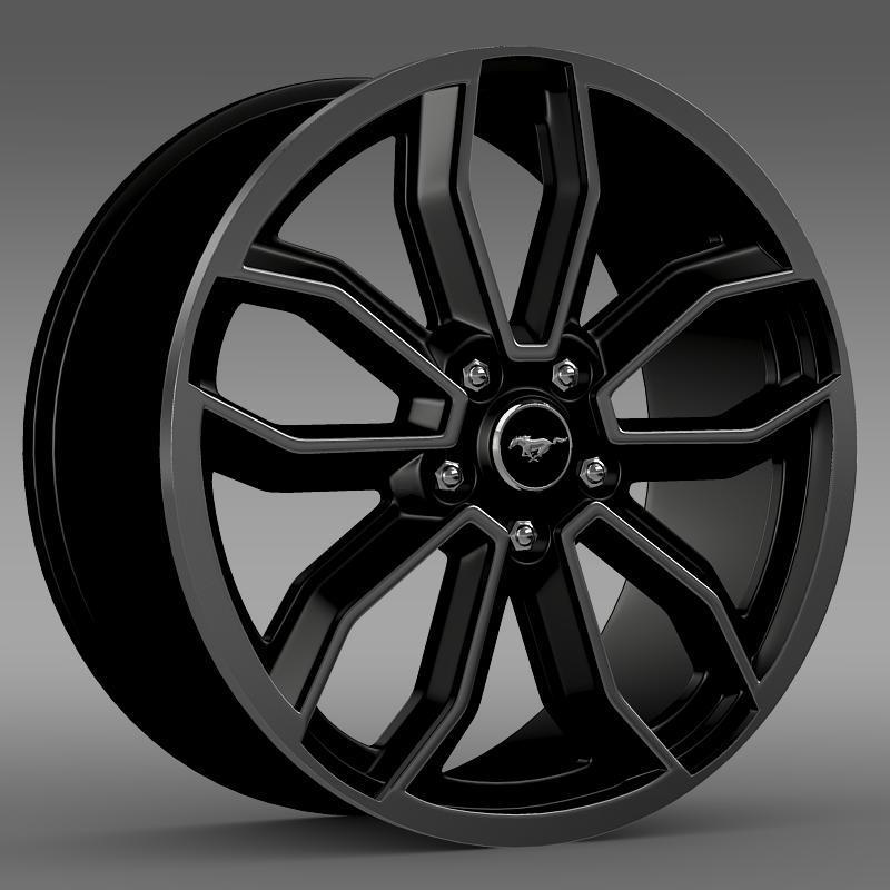 Ford Mustang GT 2013 rim - 3DOcean Item for Sale