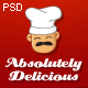 Absolutely Delicious Restaurant PSD Template - ThemeForest Item for Sale