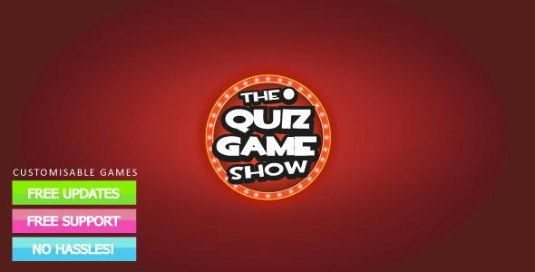 XML Quiz Show Game  - ActiveDen Item for Sale