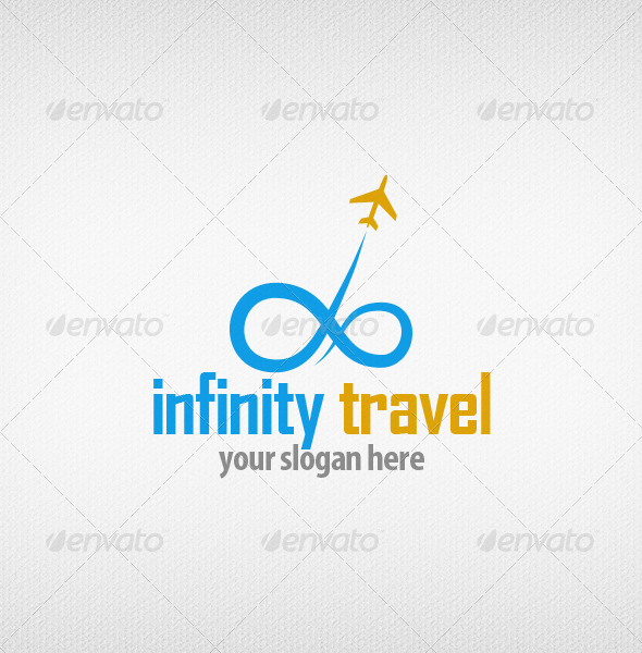 Infinity Travel Logo - Objects Logo Templates