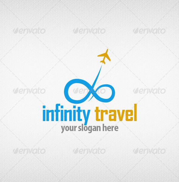 Infinity Travel Logo - Objects Logo Templates