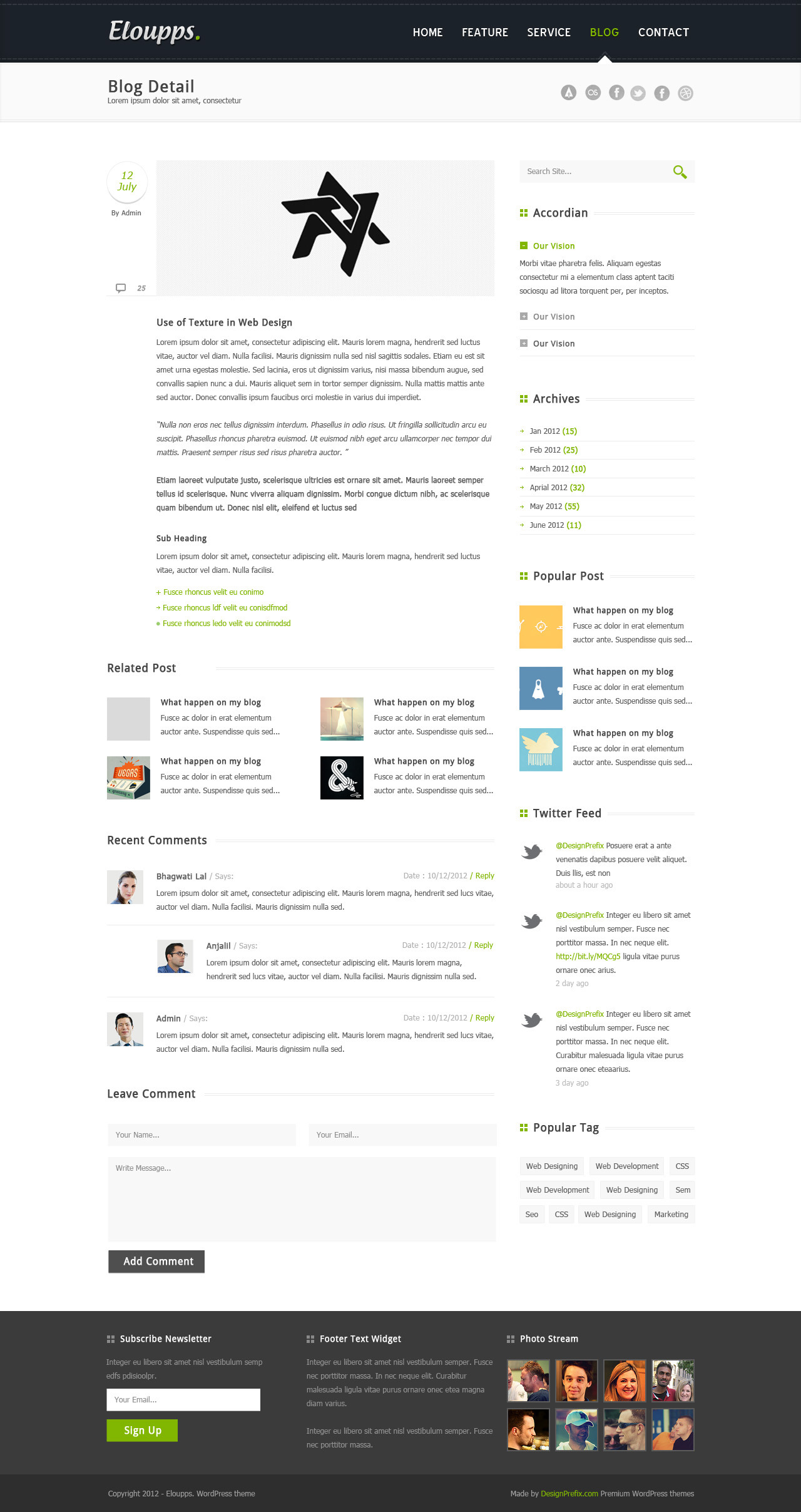 Eloupps: Agency / Corporate Business Theme