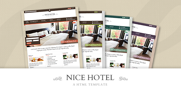 Nice Hotel - HTML Template - Travel Retail