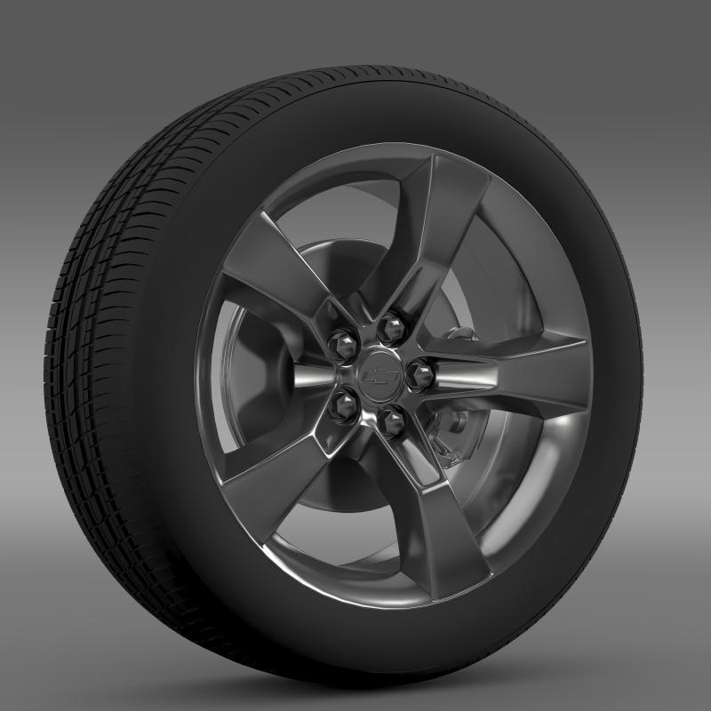 3DOcean Chevrolet Camaro 2010 wheel 2643127