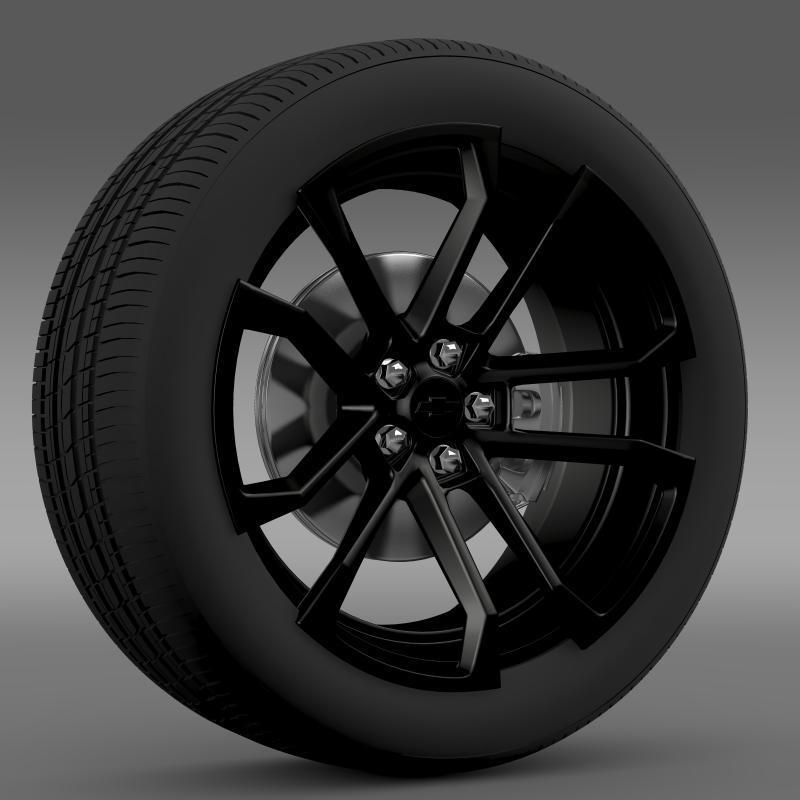 3DOcean Chevrolet Camaro SSX Concept 2010 wheel 2643621