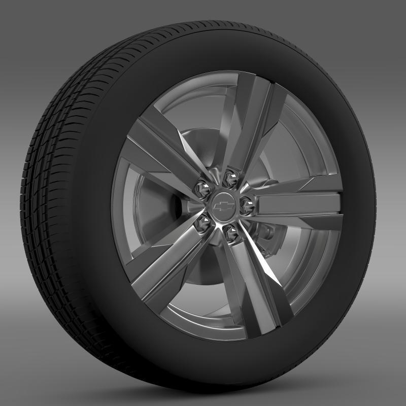 3DOcean Chevrolet Camaro ZL1 2012 wheel 2643720