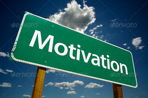 PhotoDune Motivation Road Sign 294332