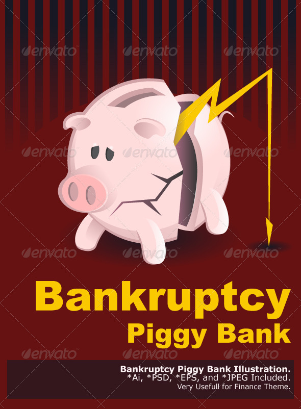 Bankruptcy Piggy Banks
