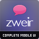 Zweir – Complete Mobile Interface - GraphicRiver Item for Sale