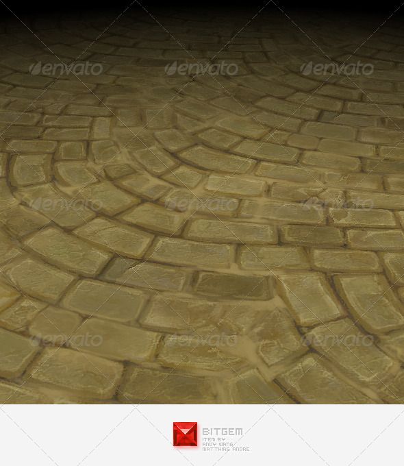 Stone Floor Texture Tile 02 - 3DOcean Item for Sale