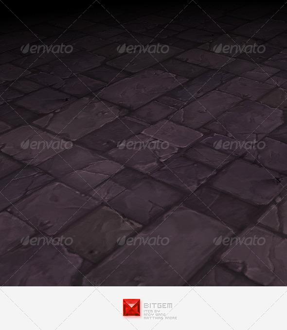 3DOcean Stone Floor Texture Tile 03 2645085