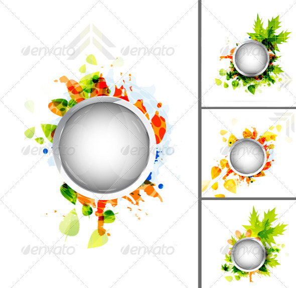 Vector Nature Background - Backgrounds Decorative