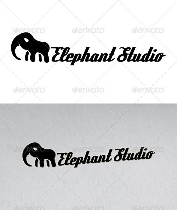 Elephant Studio Logo - Animals Logo Templates
