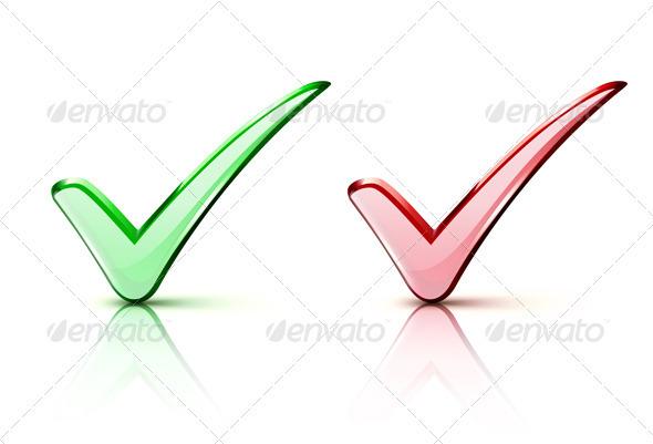 GraphicRiver Check mark Icons 2645944