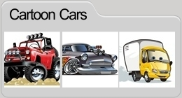Vector Cartoon Cars