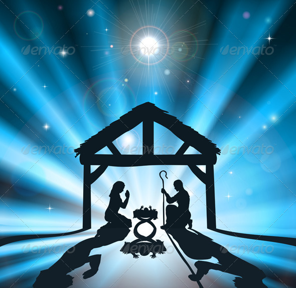 GraphicRiver The Christmas Nativity 2646592