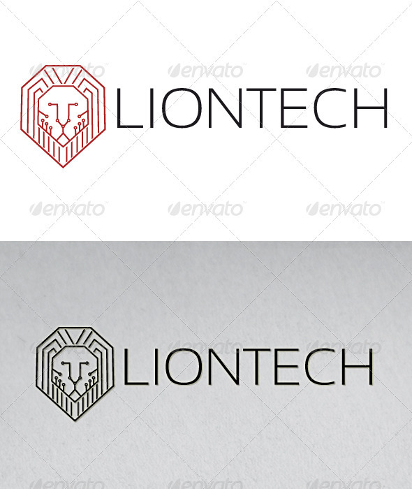 Lion Tech Logo