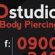 Tattoo Studio Template - GraphicRiver Item for Sale