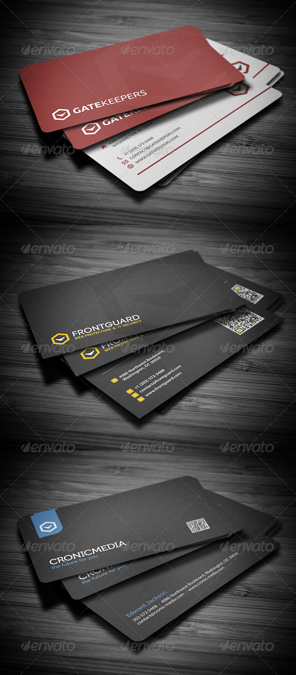 GraphicRiver Business Cards Bundle #4 2648830