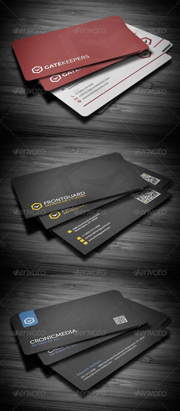 Business Cards Bundle #4 - Corporate Business Cards