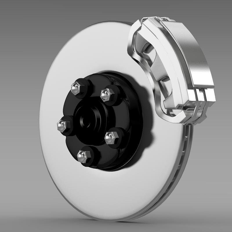 Brake of Ford Mustang - 3DOcean Item for Sale