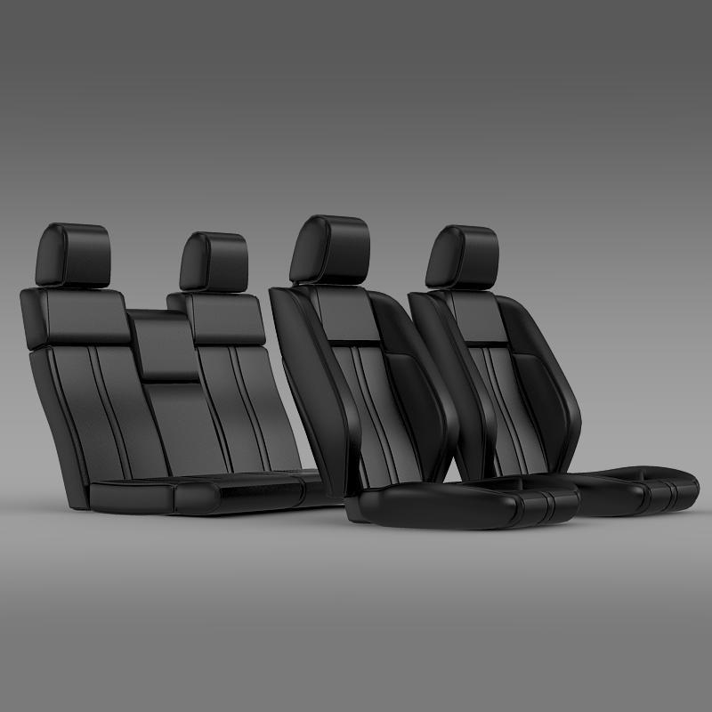 Car seats of Ford Mustang - 3DOcean Item for Sale