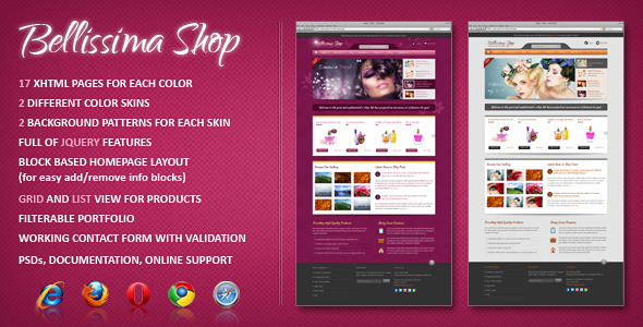 Bellissima eCommerce HTML Template