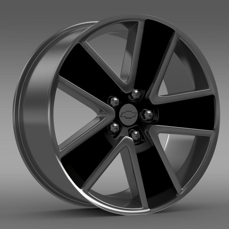 Chevrolet Camaro Convertible 2007 rim - 3DOcean Item for Sale