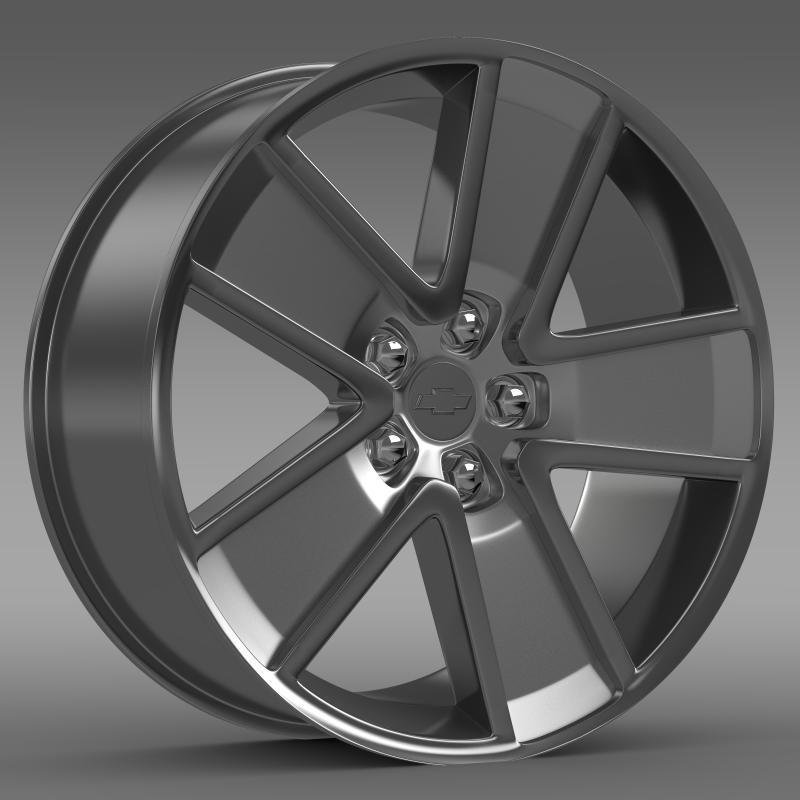 Chevrolet Camaro Redflash 2010 rim - 3DOcean Item for Sale