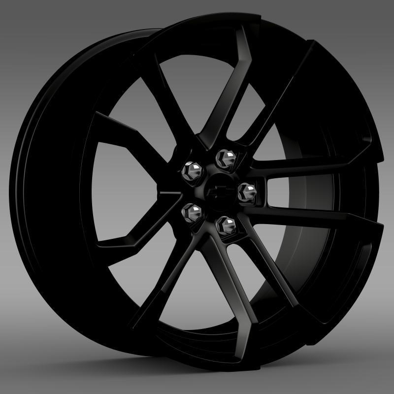 3DOcean Chevrolet Camaro SSX Concept 2010 rim 2650279
