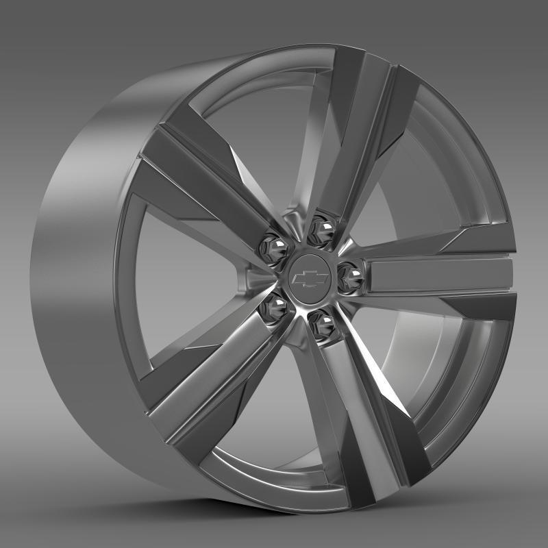 3DOcean Chevrolet Camaro ZL1 2012 rim 2650281