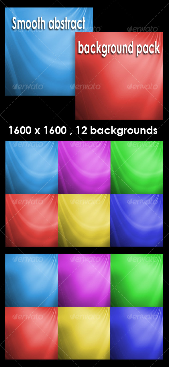 GraphicRiver Smooth abstract backgrounds pack V1 95938