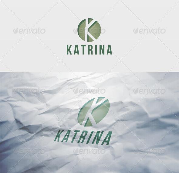 Katrina Logo - Letters Logo Templates