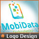 Smart Phone Application Mobile Data Logo Design - GraphicRiver Item for Sale