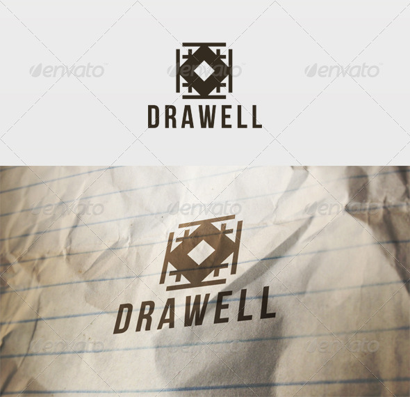 GraphicRiver Draw Well Logo 2650699