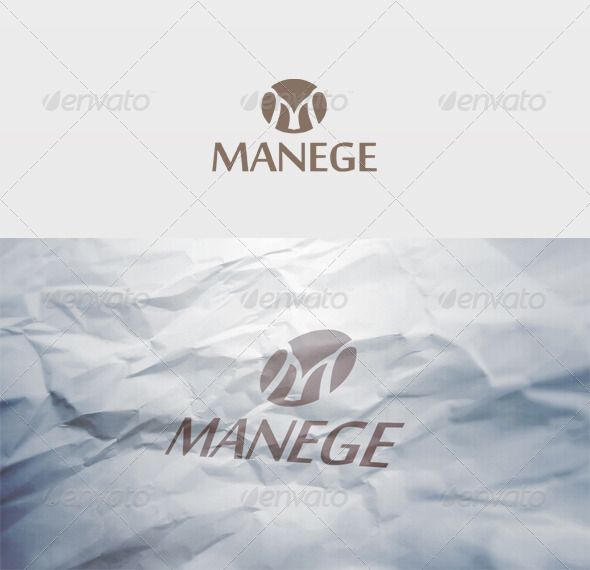 Manege Logo - Letters Logo Templates