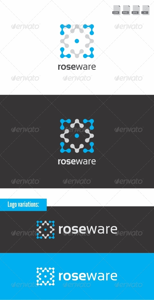 Roseware - Abstract Logo Templates