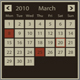 XML simple calendar 6 in 1 - ActiveDen Item for Sale