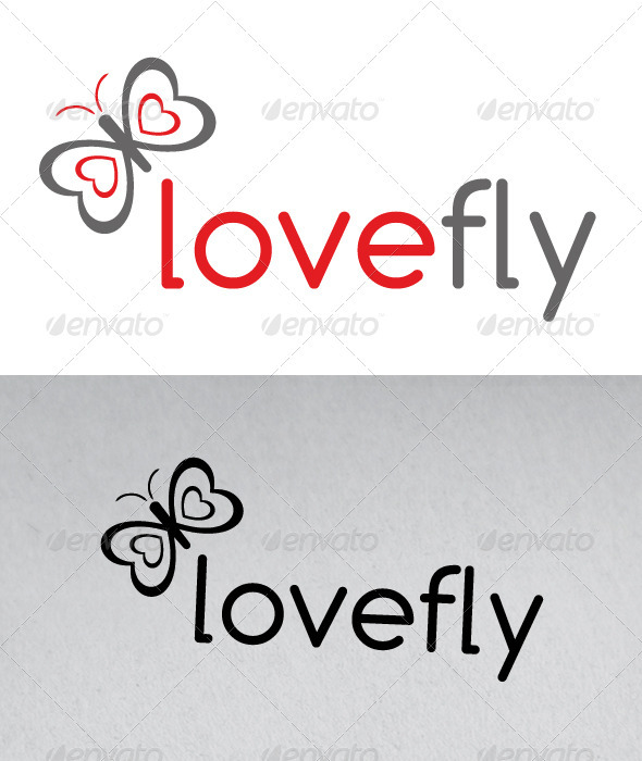 GraphicRiver Love Fly Logo 2651686