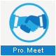 Pro Meet Logo Template - GraphicRiver Item for Sale