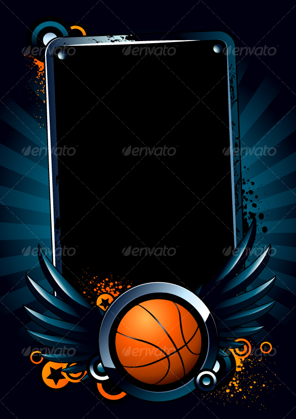 GraphicRiver Basketball Banner 95988