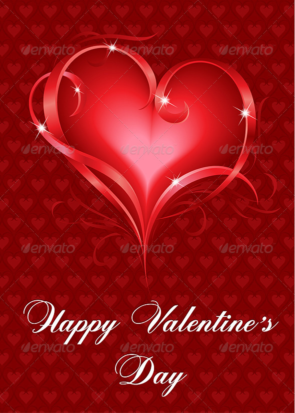 Greeting Card - Valentines Seasons/Holidays