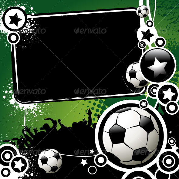banner design background. Football anner - GraphicRiver