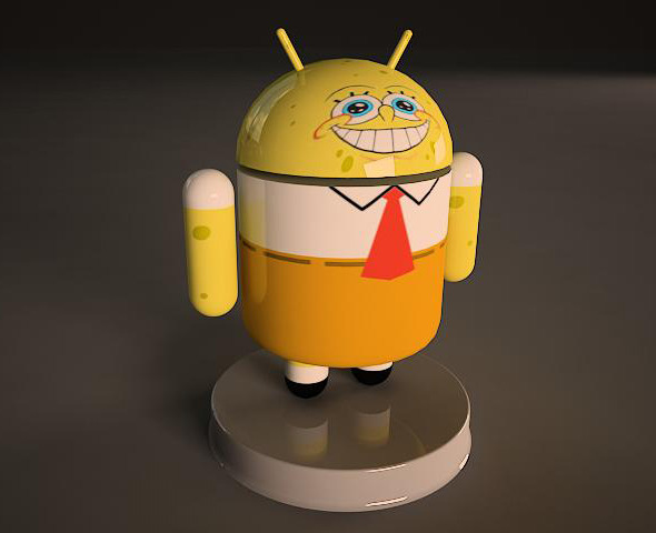 Sponge Bob Android - 3DOcean Item for Sale