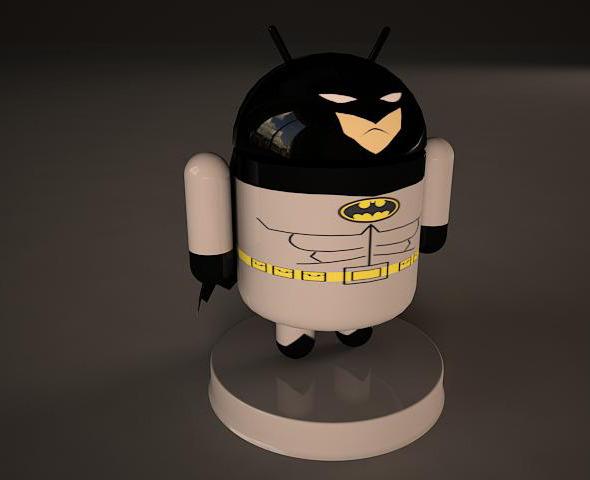 3DOcean Batman Android Model 2648004