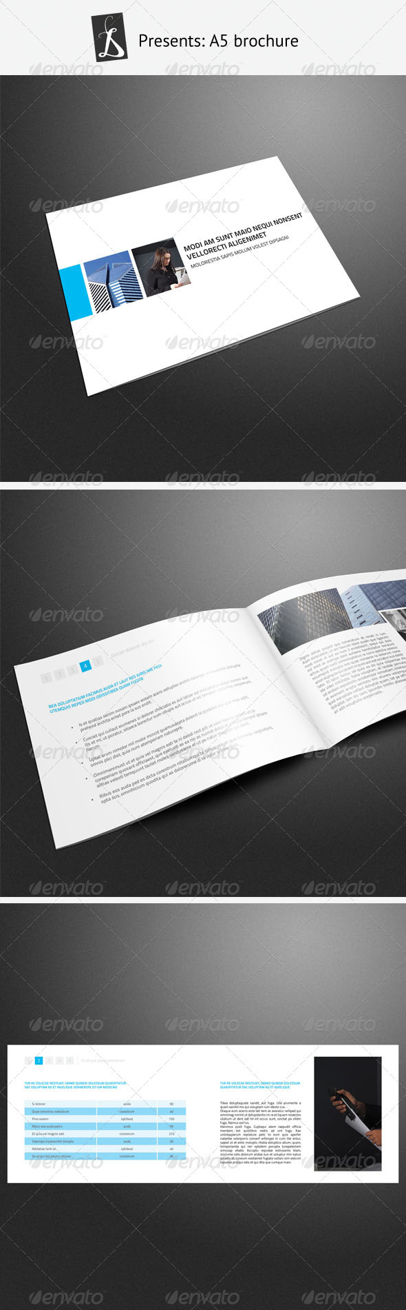 A5 Brochure 3 - Corporate Brochures