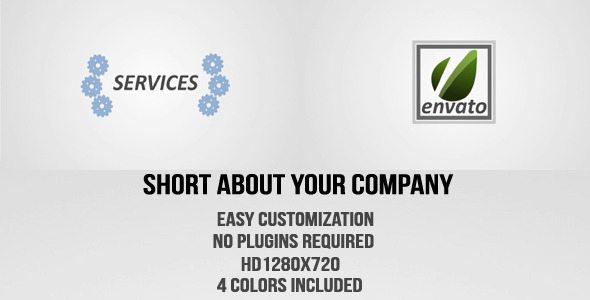 [VideoHive 2647612] Short About Your Company | After Effects Project