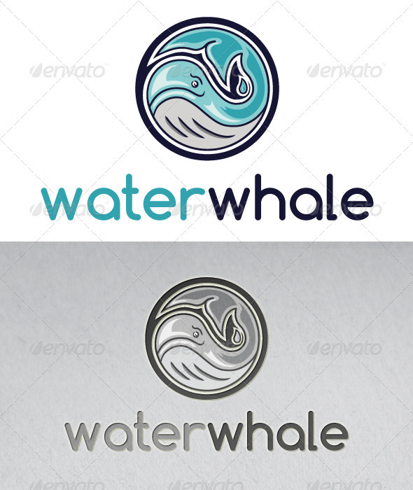 Water Whale Logo